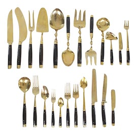 Image of Gold Serving Utensils