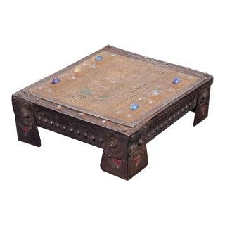 Vintage Alfred Daguet Repousse Lidded Box For Sale