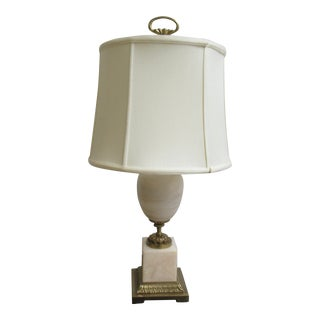 Chapman Marble French Regency Style Table Lamp For Sale