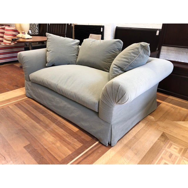 2000 - 2009 A.Rudin Rolled Arm Lounge Sofa For Sale - Image 5 of 13