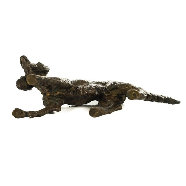 Vintage Austrian Bronze Setter Dog Figurine For Sale - Image 9 of 9