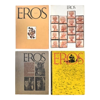 Vintage 1962 First Edition Eros Hardcover Magazine - Set of 4 For Sale