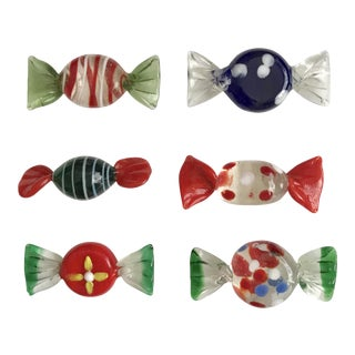 Murano Glass Candy - Set of 6