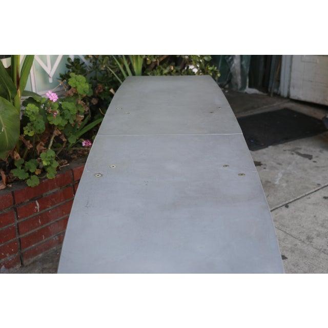Aluminum Robert Josten Console Table For Sale - Image 11 of 11
