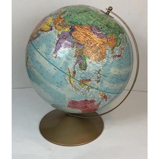 Mid-Century Modern Vintage Replogle World Nations Series Globe For Sale - Image 3 of 11