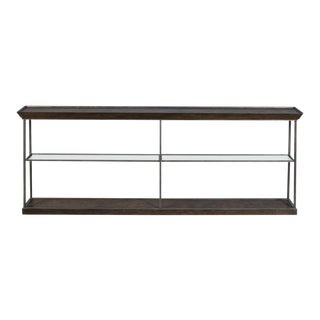 Hunt Country Large Console, Heather Grey For Sale