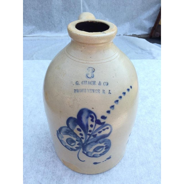 Providence Stoneware Jug For Sale - Image 4 of 9