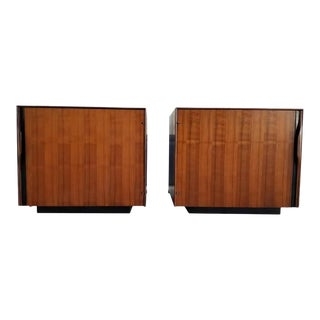 John Kapel Side Tables or Cabinets - a Pair For Sale