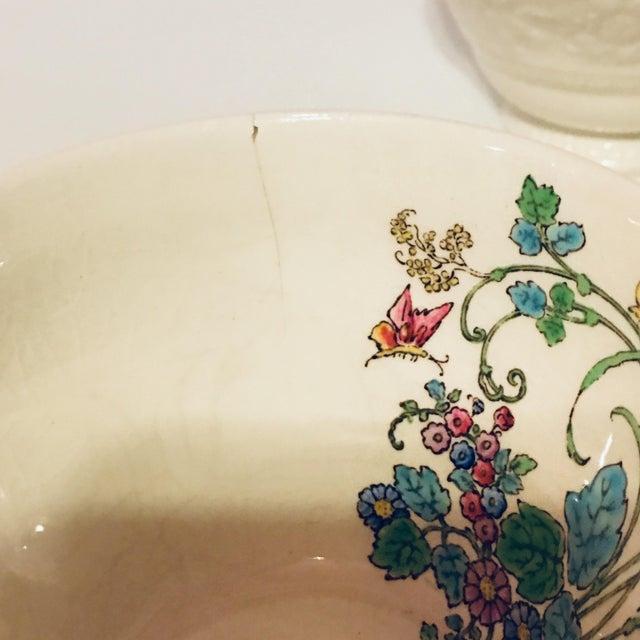 1940s Vintage Wedgwood Montreal Bone China Tea Set of 12 For Sale - Image 12 of 13