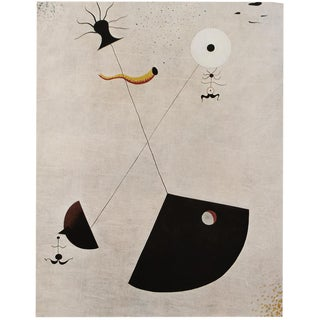 "1940s Joan Miró, ""Maternity"", Original Period Swiss Lithograph For Sale"