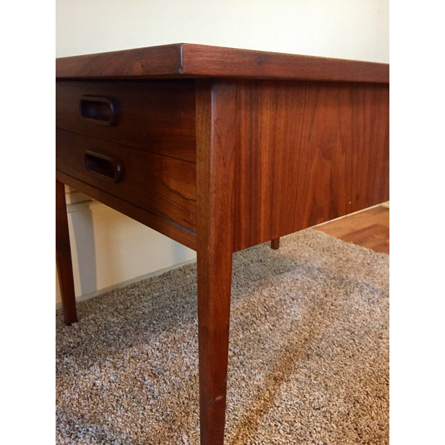 Brown Jack Cartwright End Tables for Founders - A Pair For Sale - Image 8 of 11