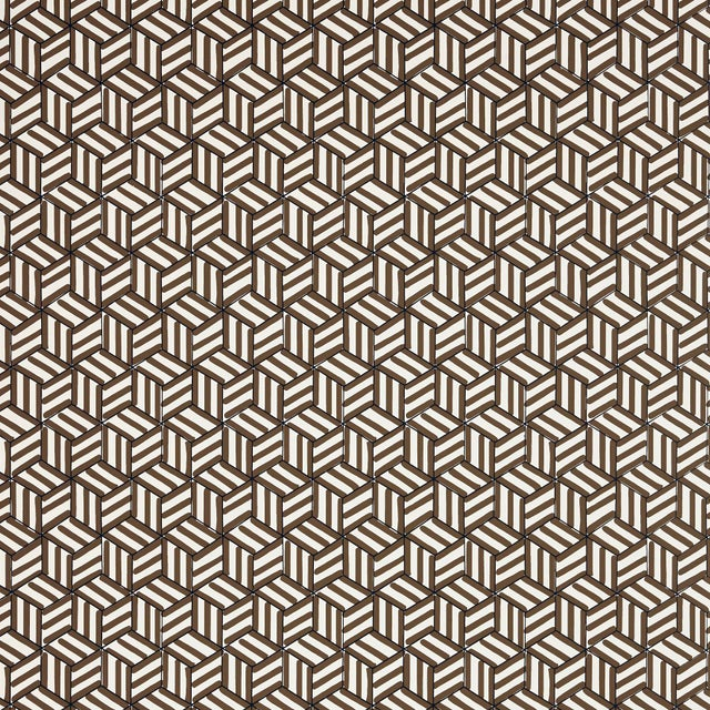 A playful geometric in the spirit of David Hicks, this stylized pattern was hand-drawn with a pen and magic marker. Also...