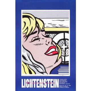 Roy Lichtenstein Shipboard Girl 1995 Poster