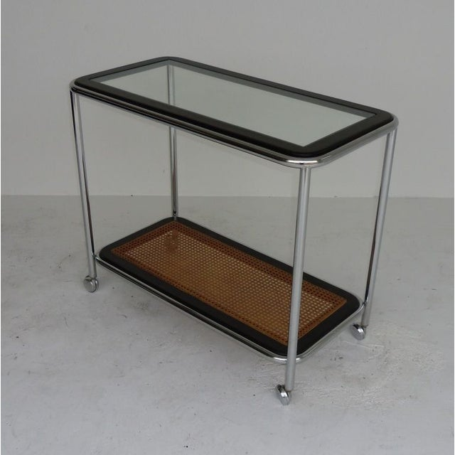 European Mid-Century Tea Cart - Image 3 of 4
