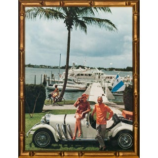 Slim Aarons Palm Beach Yacht Club Scene