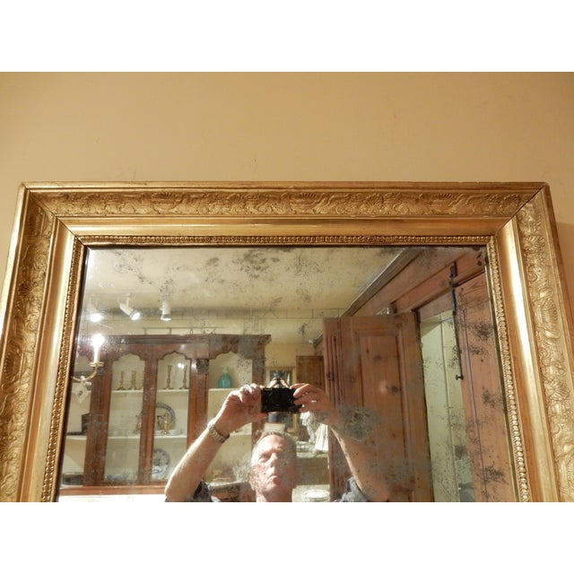 French 19th Century Empire Mirror For Sale - Image 3 of 7