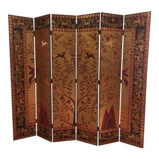 Coromandel 6 Panel Screen