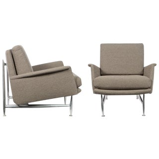 1960s Vintage Donald Deskey for Charak Modern Armchairs- a Pair For Sale