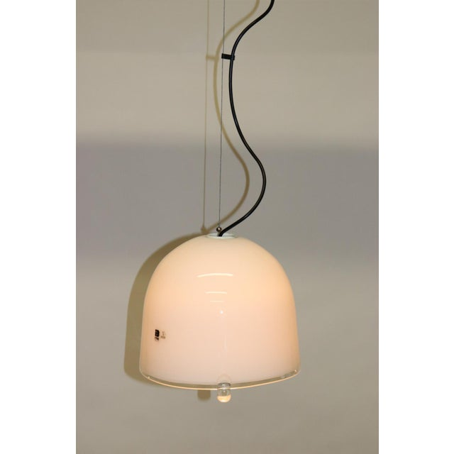 Itre Mid-Century Modern Murano Glass Pendant Lamp For Sale - Image 4 of 13