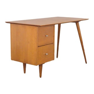 Paul McCobb Planner Group Maple Writing Desk For Sale