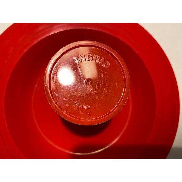 Vintage Ingrid Plastic Chicago Six Colors Serving Set - 26 Pieces For Sale - Image 9 of 12