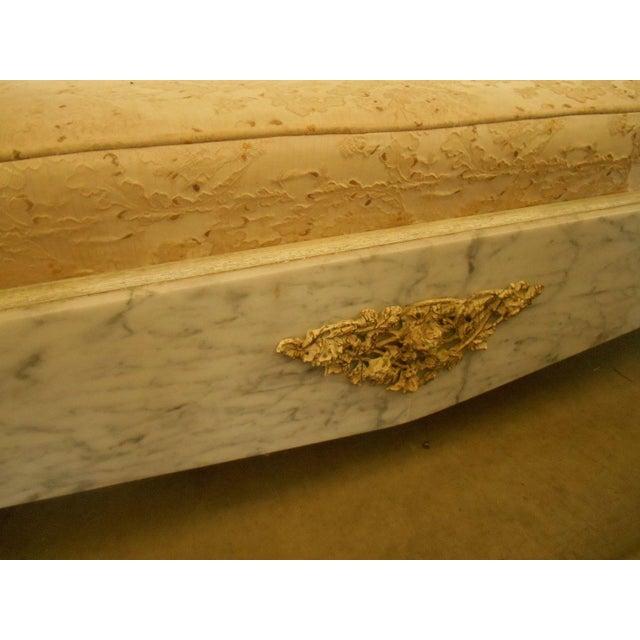Hollywood Regency-Style Platform Sofa - Image 6 of 8