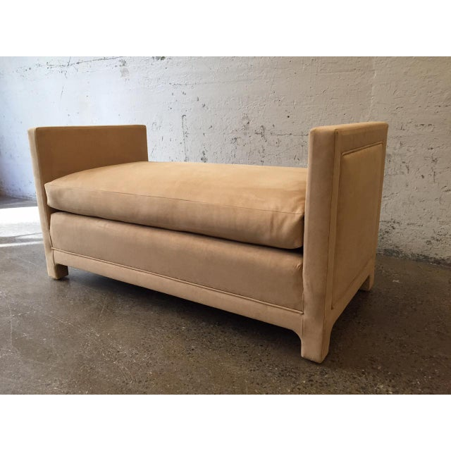Mid-Century Modern Flavor Custom Originals Oversized Bench For Sale - Image 3 of 7