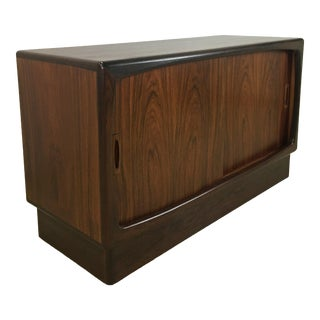 Danish Modern Rosewood Credenza/Cabinet/Buffet/Sideboard by Hp Hansen For Sale