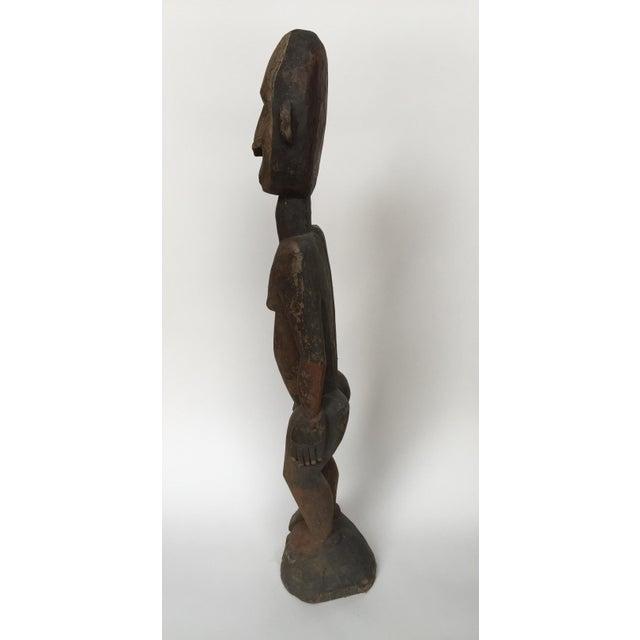 """Female Figure Sepic River Papua New Guinea Region Dimensions: 30 1/2"""" H x 6"""" D x 7""""W Era: Late 19th Early 20th Century..."""