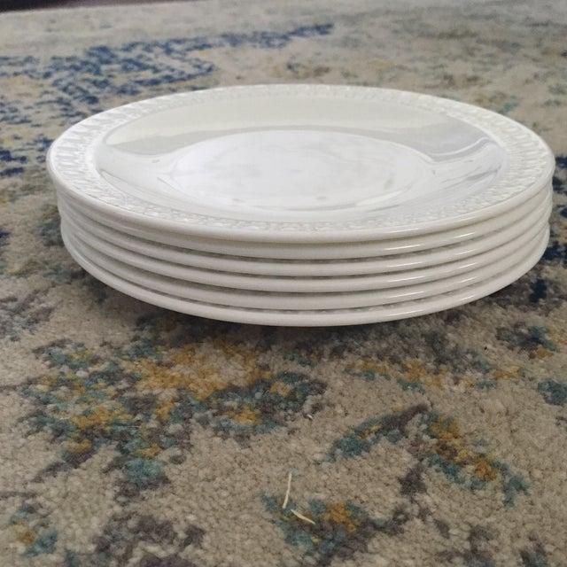 Vintage Corning Pyroceram Tableware White Dessert Plates - Set of 6 - Image 5 of 11