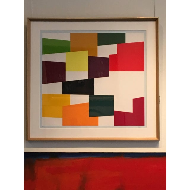 Abstract Yaacov Agam Untitled C.1970 For Sale - Image 3 of 8