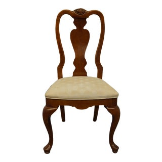 Stanley Furniture Cherry Traditional Style Side Chair For Sale