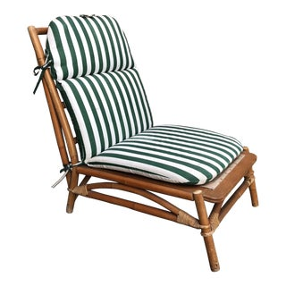 Mid-Century Ficks Reed Rattan Lounge Chair