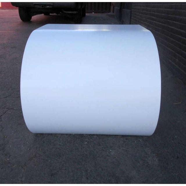 White Scroll Coffee Table or Side Table - Image 2 of 8