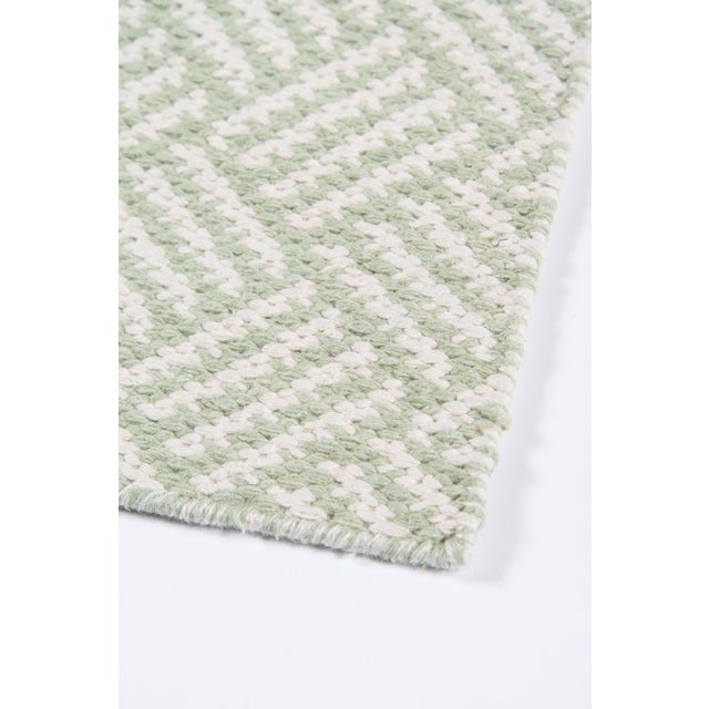 "Madcap Cottage Baileys Beach Beach Club Green Indoor/Outdoor Area Rug 5' X 7'6"" For Sale In Atlanta - Image 6 of 7"