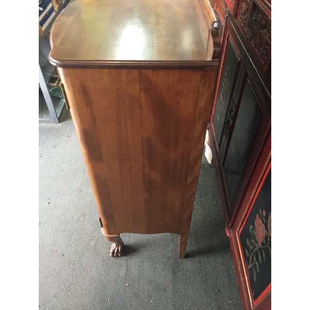 Mahogany Antique Sheet Music Cabinet For Sale - Image 7 of 10