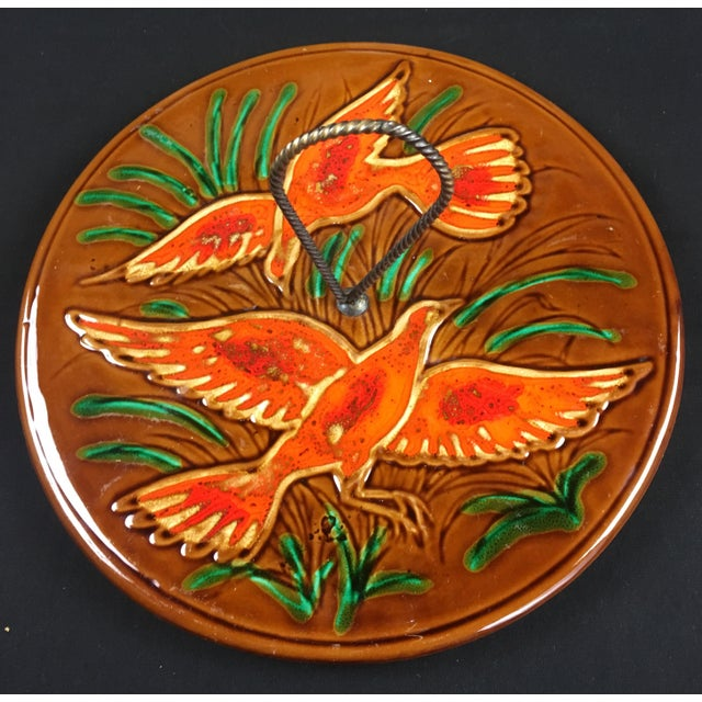 Mid-Century Modern 1970s French Glazed Ceramic Serving Dish For Sale - Image 3 of 7