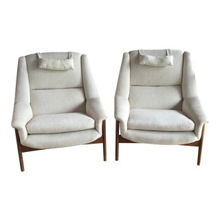 Mid-Century Folke Ohlsson for Due Chairs - A Pair