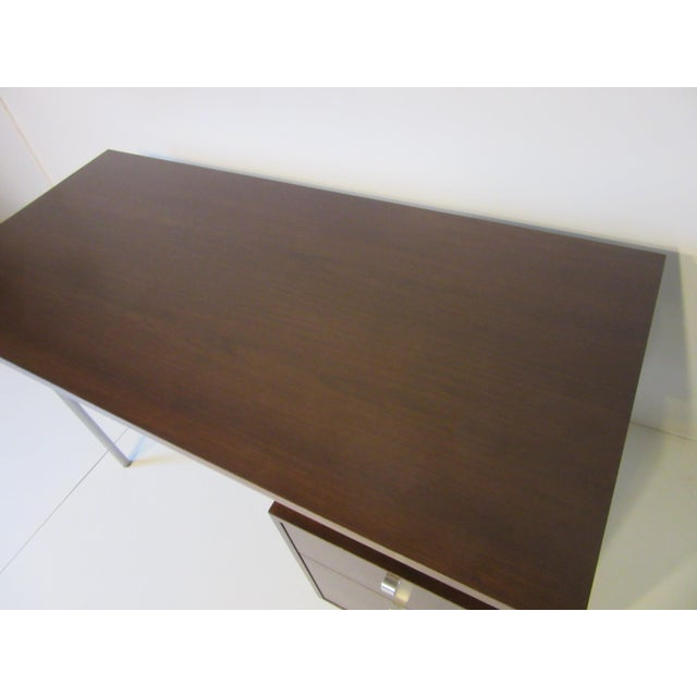 Mid 20th Century George Nelson for Herman Miller Walnut Desk For Sale - Image 5 of 10