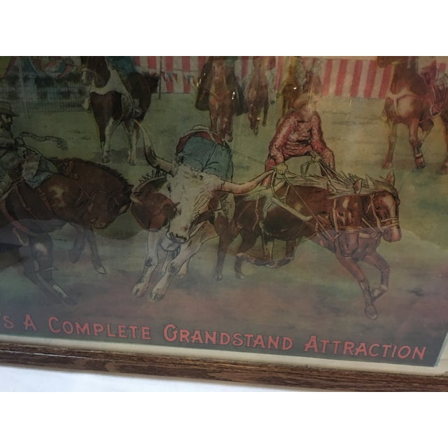 Original Rio Grande Rodeo Wild West Poster - Image 7 of 7
