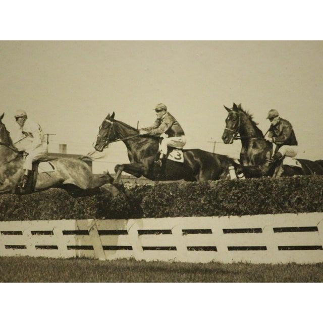 """Henrie Memorial Steeplechase C1925 B&w Photo From Woodbine Park Now 'Racetrack' in Toronto, Ont"" For Sale In New York - Image 6 of 6"