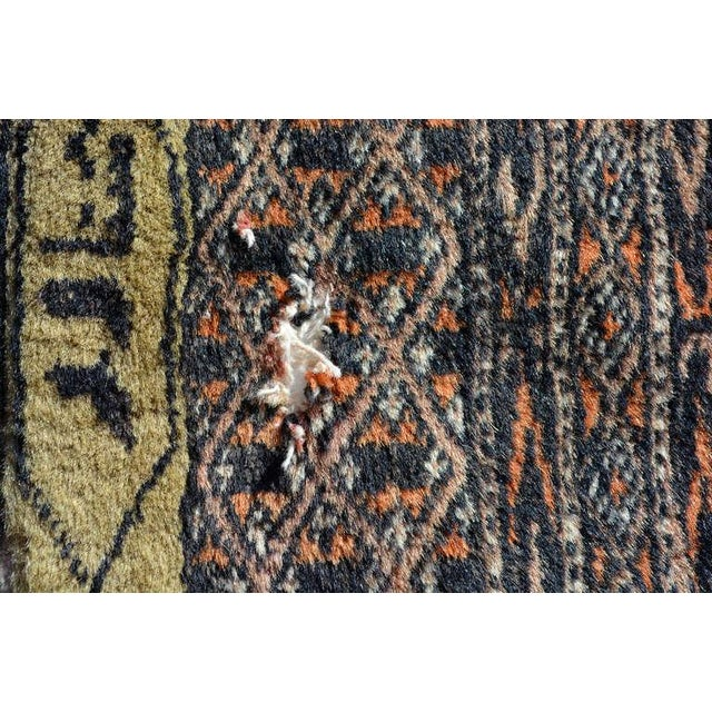 1940s Persian Carpet Runner, Signed, 1940s For Sale - Image 5 of 9