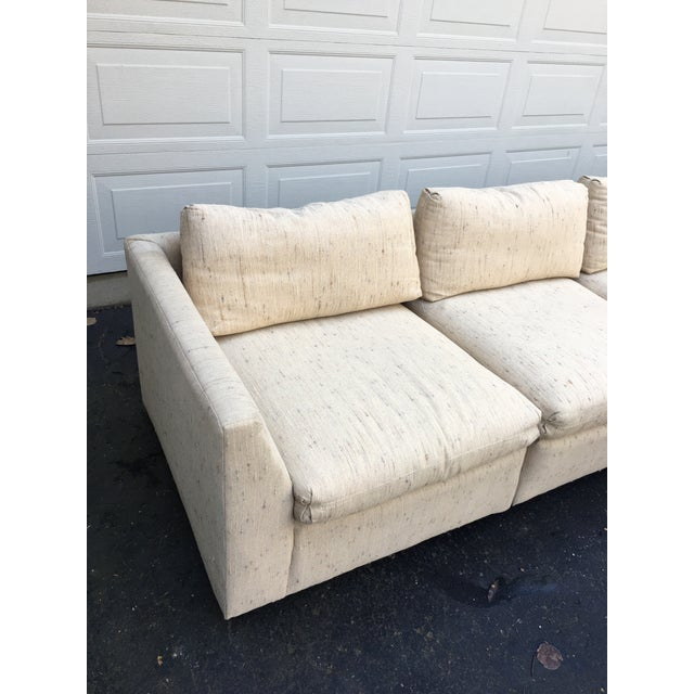 Contemporary 1980s Vintage Dansen 5pc Sectional Sofa For Sale - Image 3 of 13