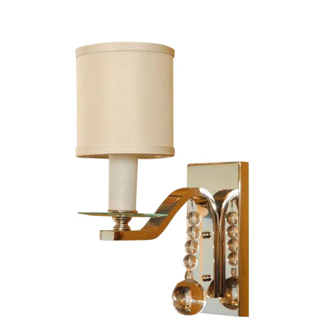 Paul Marra Glass Ball Sconce For Sale