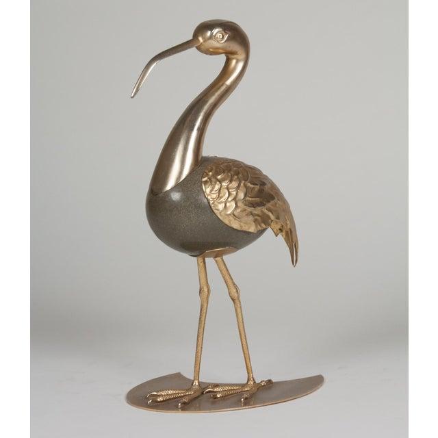 Brass Standing Ibis Sculpture - Image 7 of 7