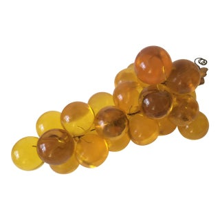Bunch of Lucite Grapes Decoration