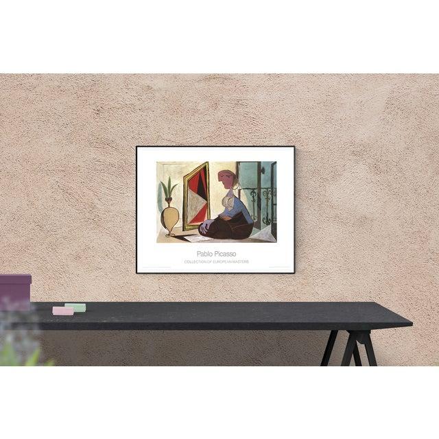 Sku: NR018 Artist: Pablo Picasso Title: Femme au Miroir Year: 1989 Signed: No Medium: Offset Lithograph Paper Size: 27.5 x...