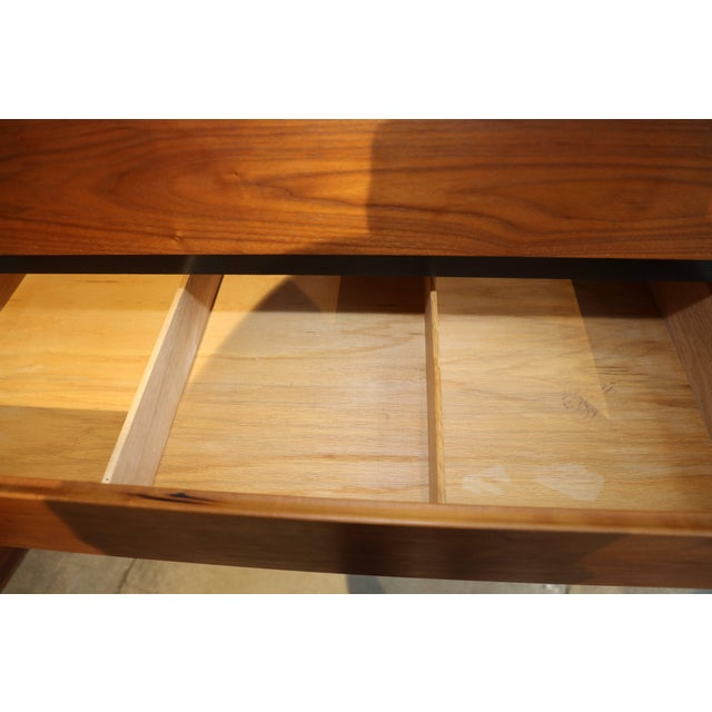 1970s Dillingham Walnut Dresser For Sale - Image 5 of 10