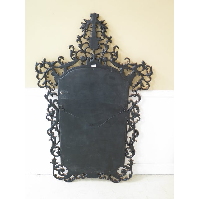 Theodore Alexander French Style Paint Decorated Mirror For Sale - Image 9 of 11