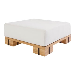 "Summit Furniture Krios Ottoman 41"" Square For Sale"